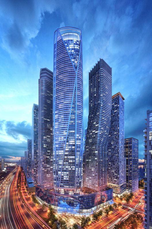 Pinnacles soaring 95-Tower Luxurious Condominium - One Yonge