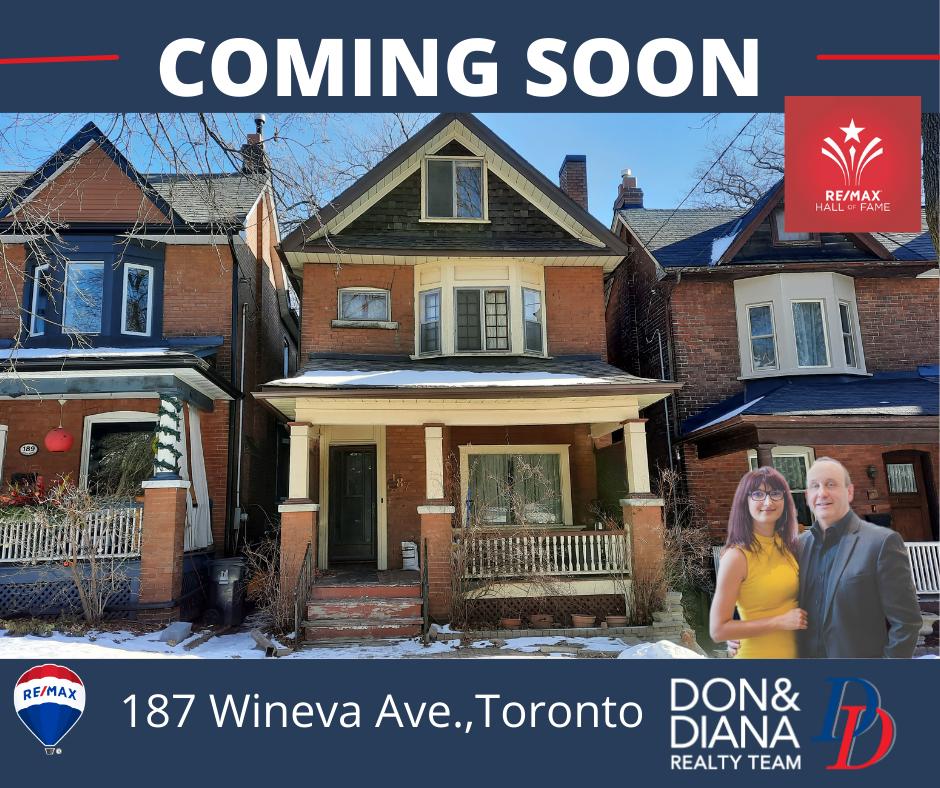 187 Wineva Ave. Toronto