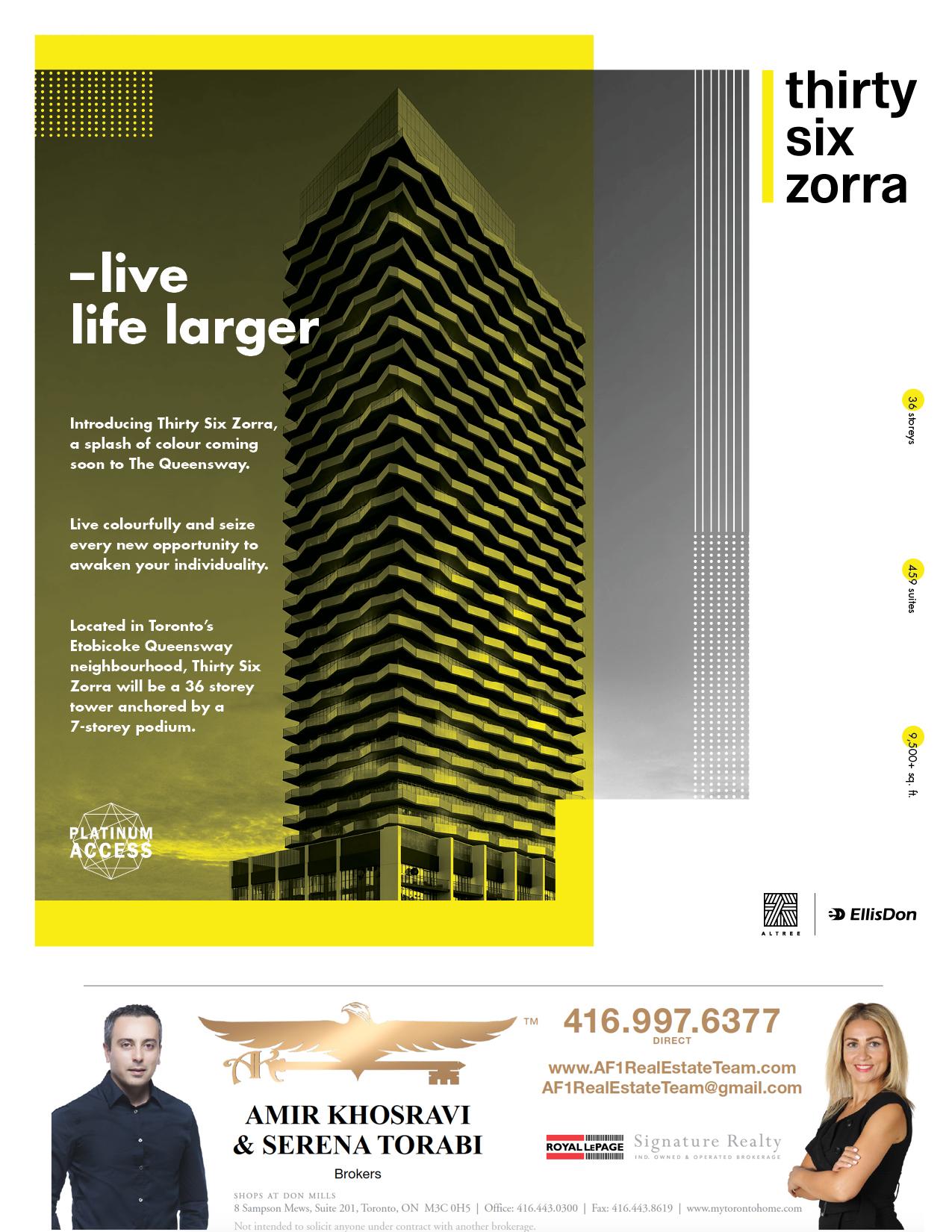 Thirty Six Zorra