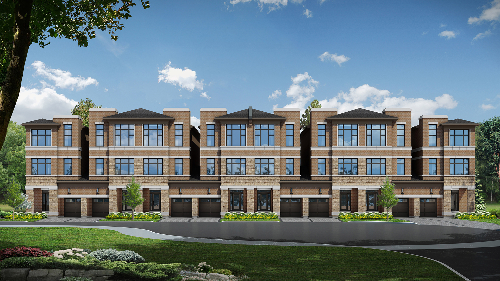 The Belmont Townhomes
