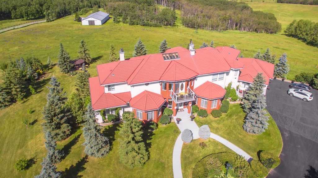40 Acre Mansion SW of Spruce Meadows