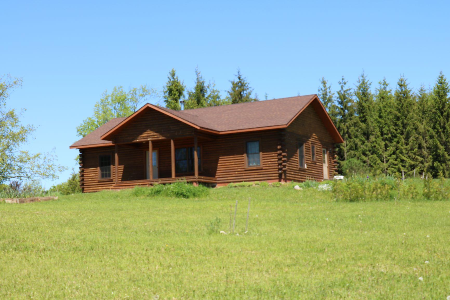 Southern Yellow Pine Log Home