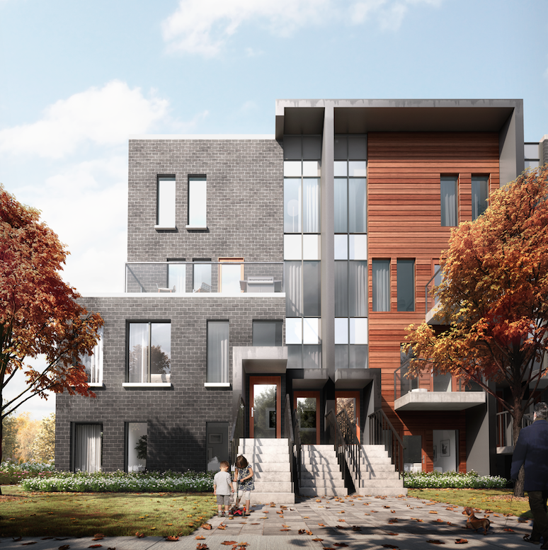 Etobicoke Modern Urban Stacked Townhomes  from $836,900