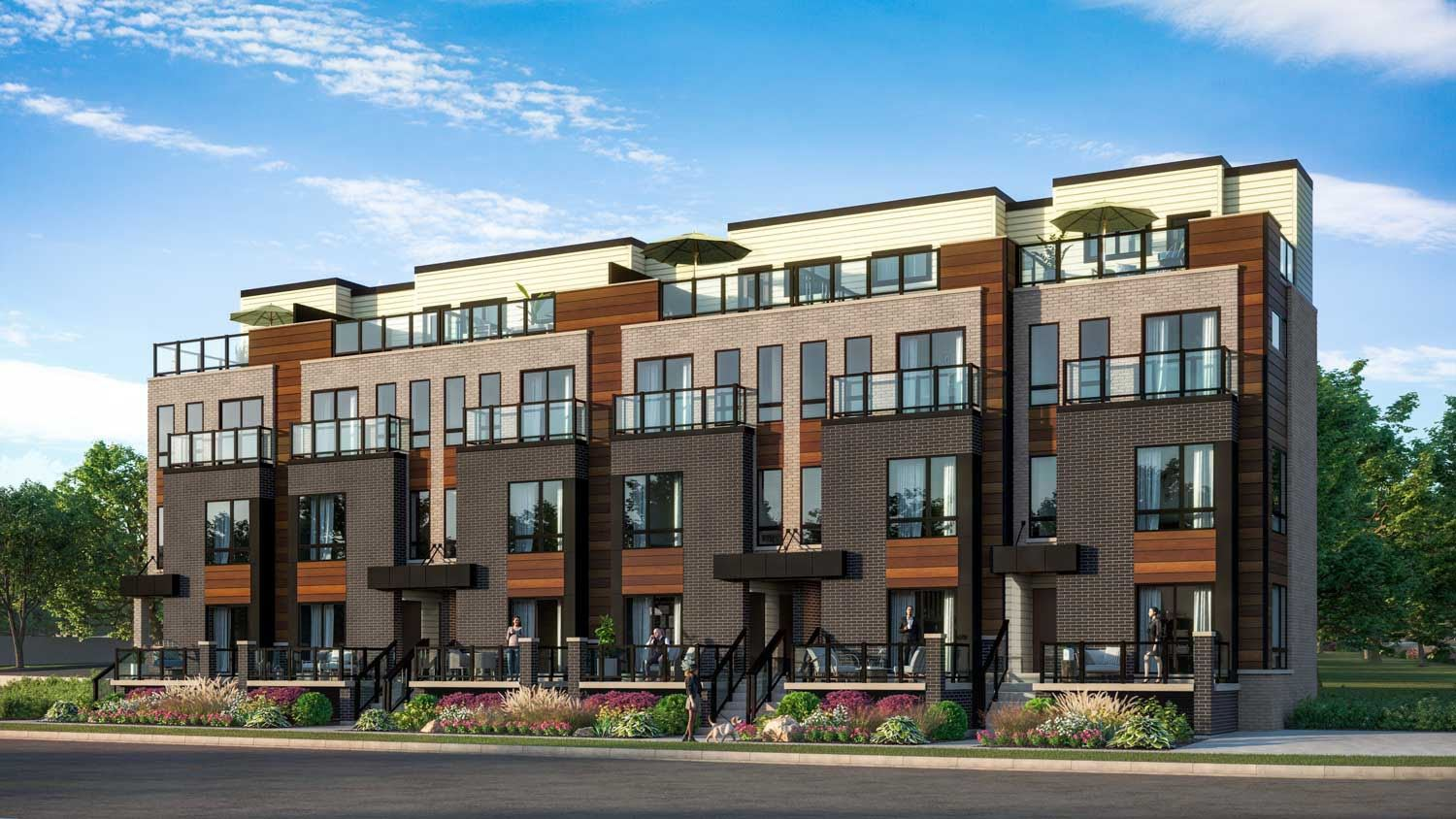 Scarborough Modern Town homes Builders Introductory Price From $629K