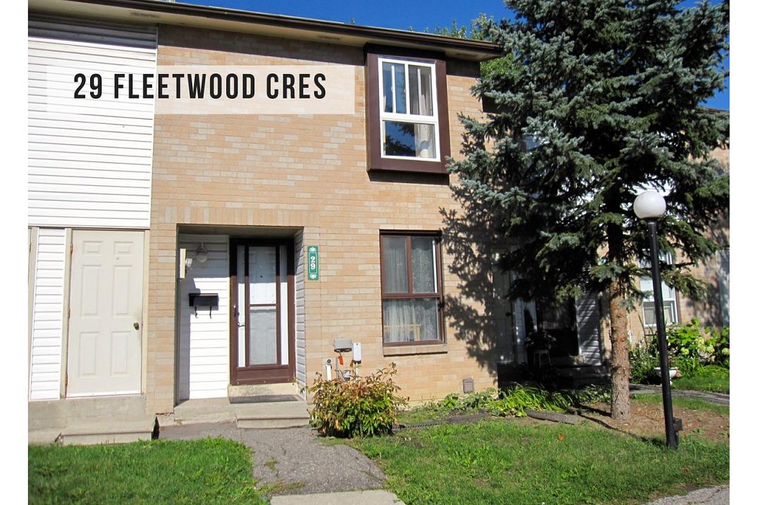 $449,900 • 29 Fleetwood Cres