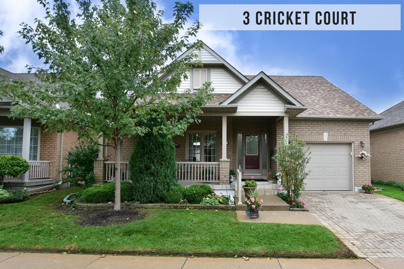 $679,900 • 3 Cricket Crt