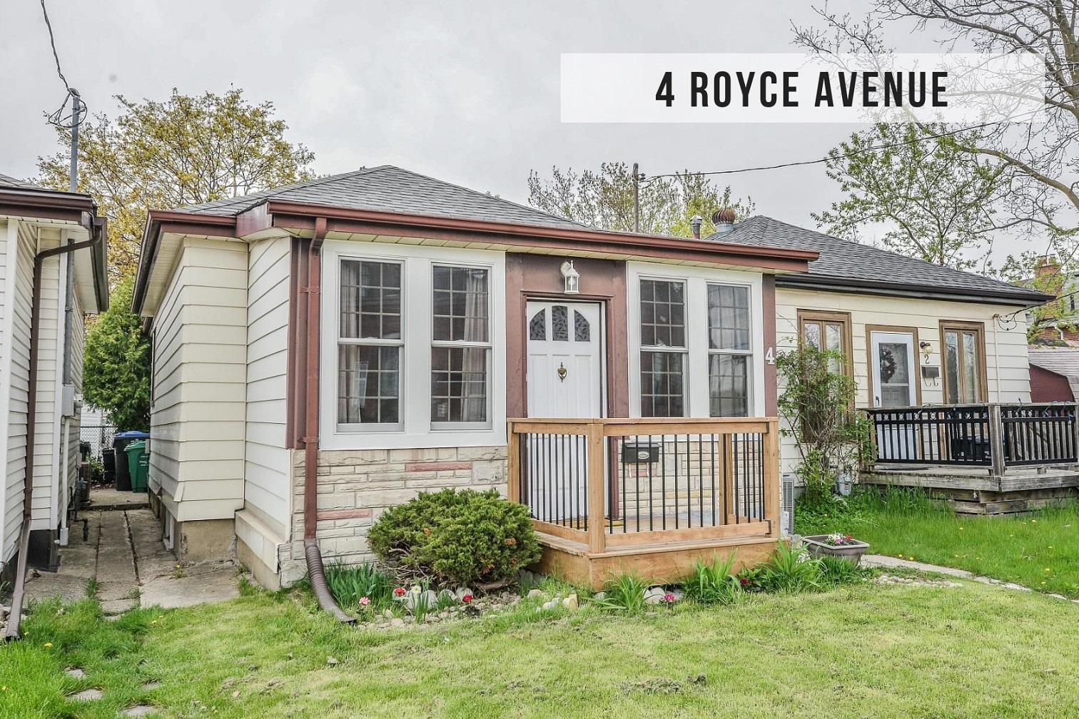 $429,900 • 4 Royce Ave