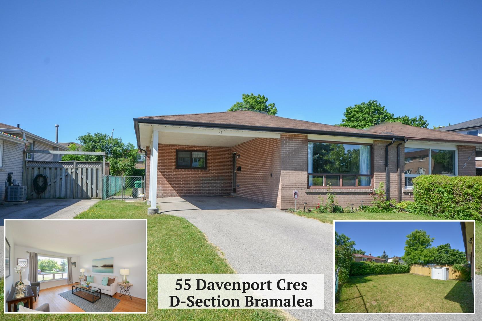 $549,900 • 55 Davenport Cres