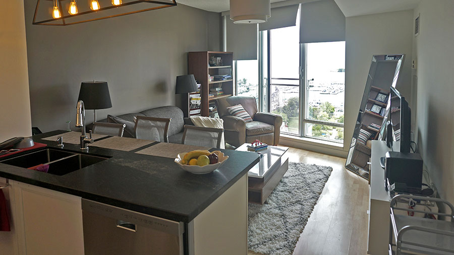 1-Bedroom Furnished Penthouse For Rent Overlooking Lake Ontario