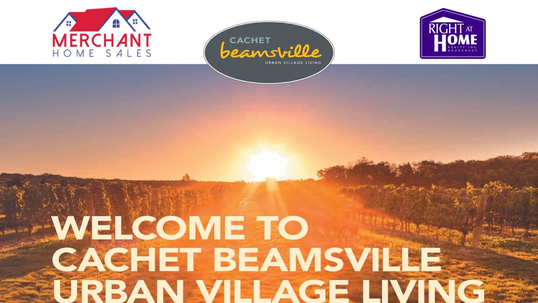 CACHET Beamsville - Urban Village Living